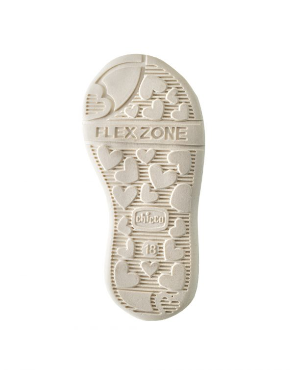 Sandalo Giostra bianco - Chicco