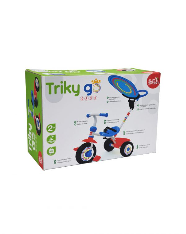 SUN&SPORT - TRICICLO TRIKY GO BOY - Sun&Sport