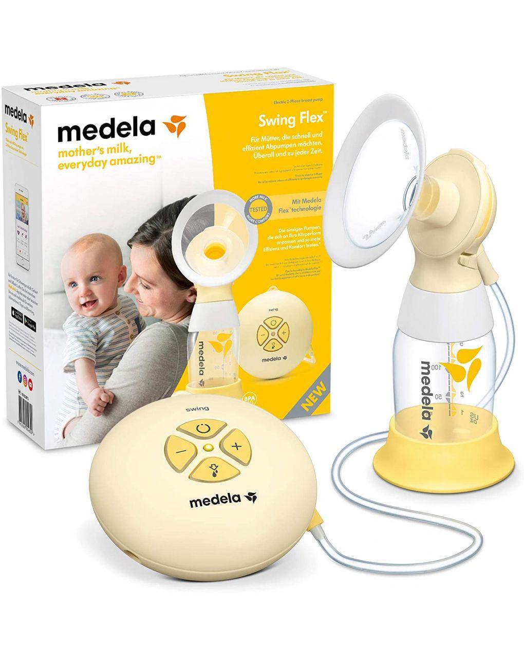 Tiralatte elettrico singolo swing flex - Medela