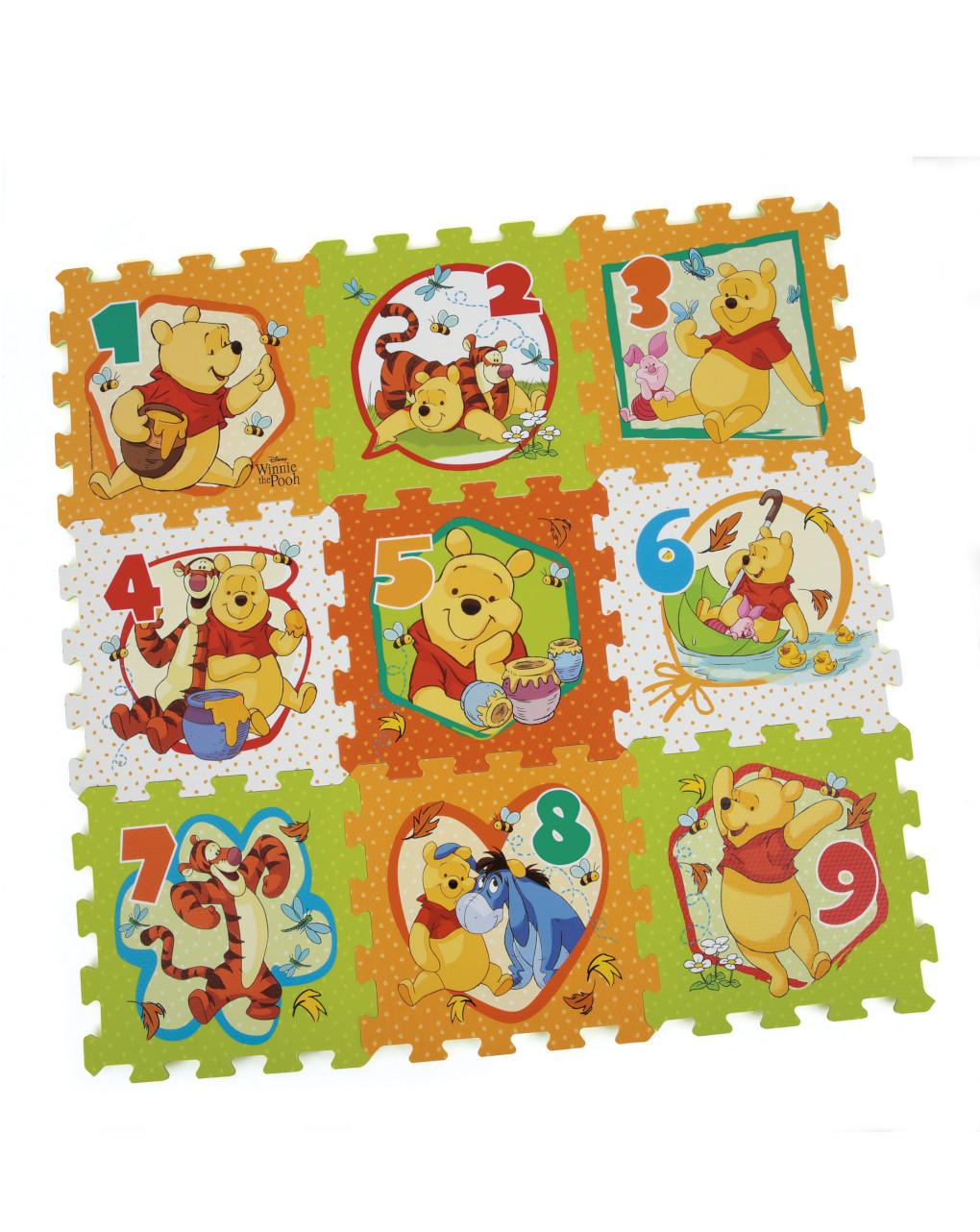 Baby smile - winnie the pooh tappeto puzzle soft - Baby Smile