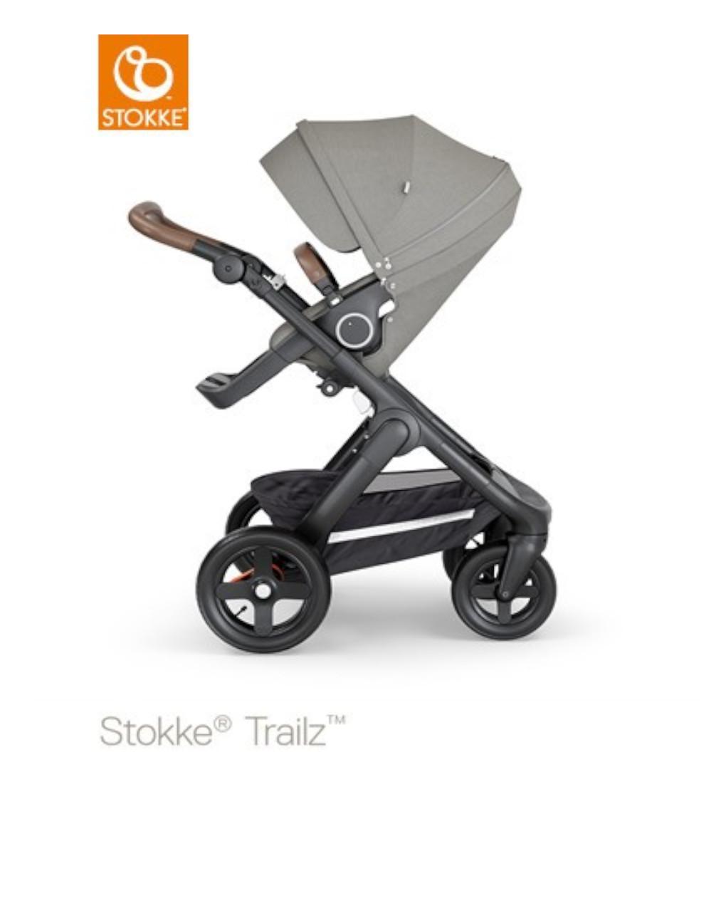 Stokke® trailz™ - brushed grey - Stokke