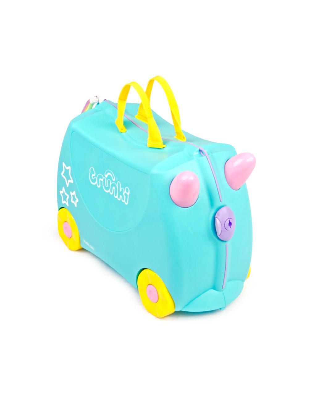 Trunki valigia cavalcabile unicorno - Trunki