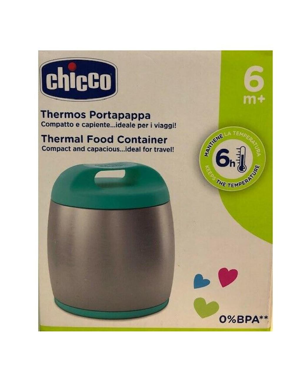 Thermos portapappa bimbo inox chicco - Chicco