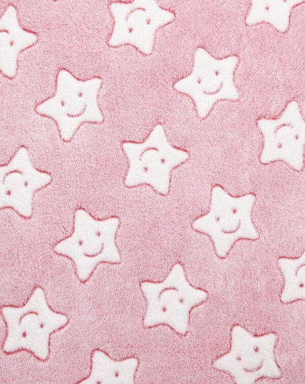 LETTO - Coperta in pile con stelle - Prénatal