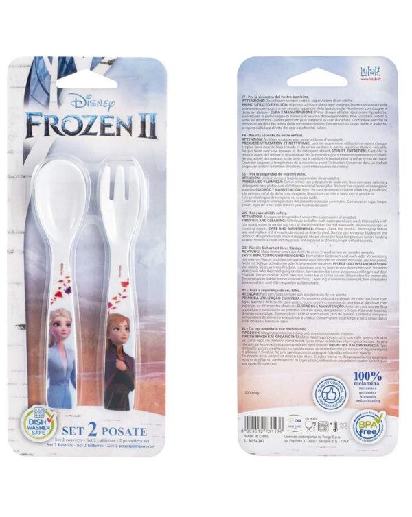 Cucchiaio + forchetta frozen 2 disney - Disney