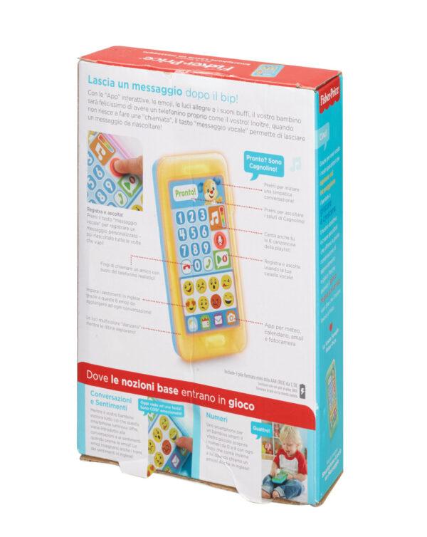 FISHER PRICE - SMARTPHONE LASCIA UN MESSAGGIO - Mattel