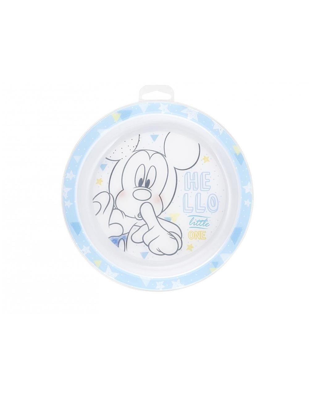 Piatto piano 21,5 cm mickey disney - Disney, Lulabi Disney