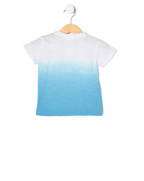 T-shirt con mezza manica e stampa squalo - Prénatal