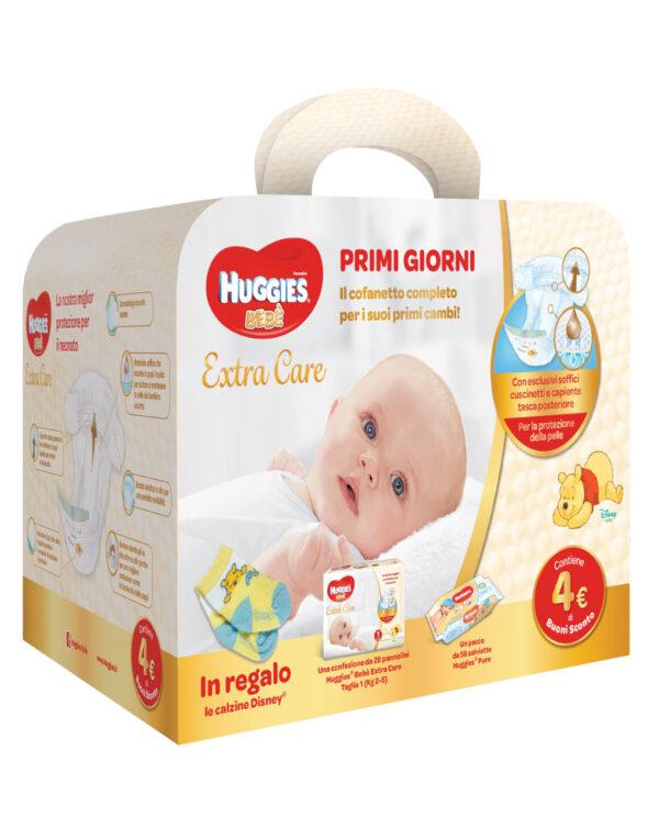Huggies - Extra care bebè Starter Kit (tg.1) - Huggies