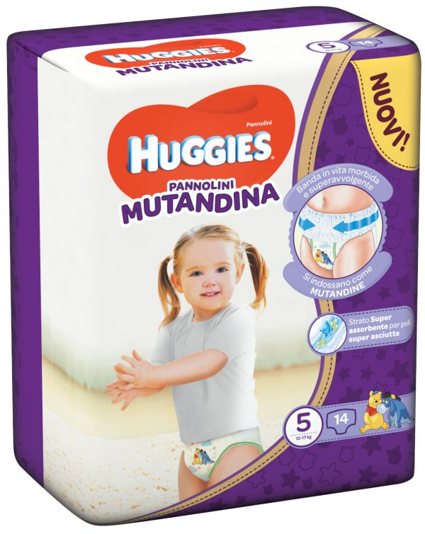 Huggies - Pannolini Mutandina tg. 5 (14 pz) - Huggies