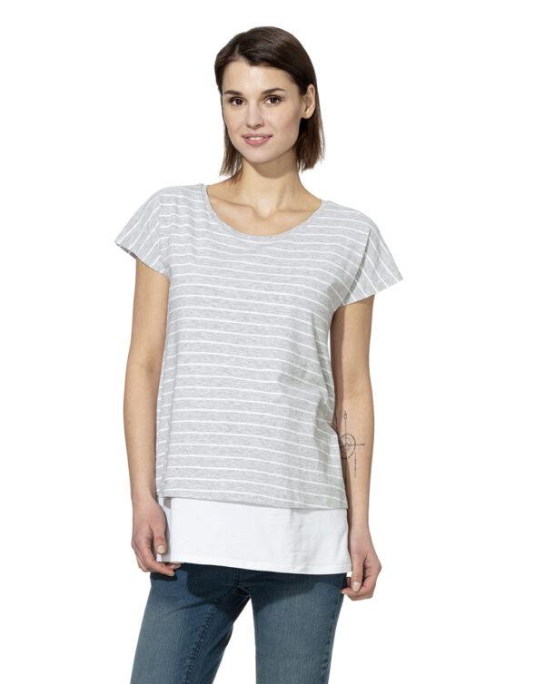 Jeans denim con fascia elastica alta - Prénatal