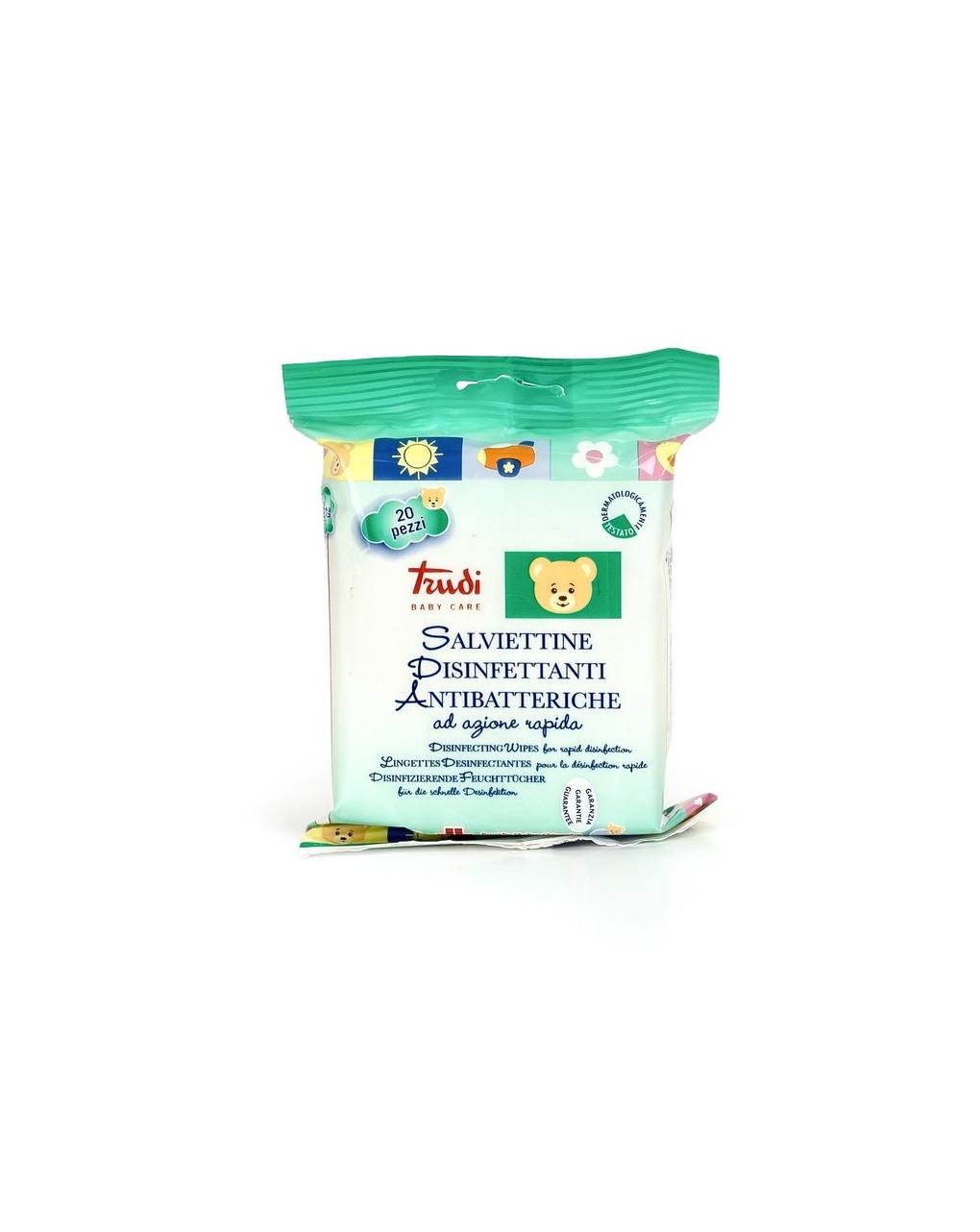 Salviettine antibatteriche 20pz - Trudi