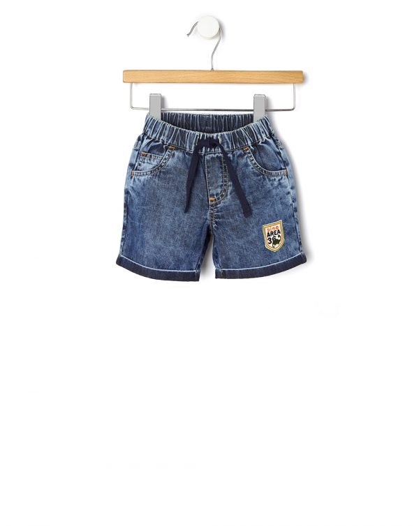 Set 2 pezzi pantaloncini e camicia - Prénatal