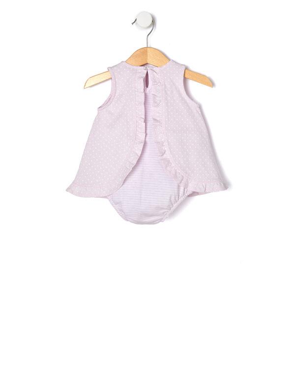 Pagliaccetto in jersey rosa - Prénatal
