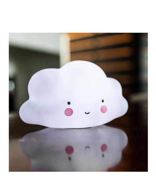 Piccola luce Nuvoletta bianca - Little Lovely Company