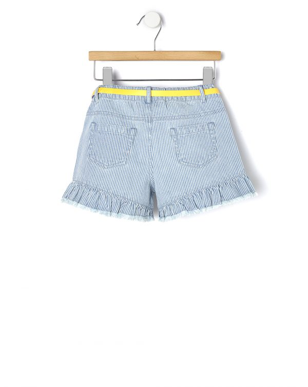 Pantaloncino denim millerighe - Prénatal