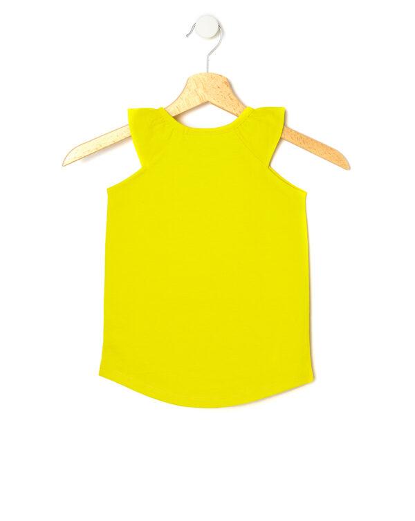 Canotta gialla con stampa gelato - Prenatal 2