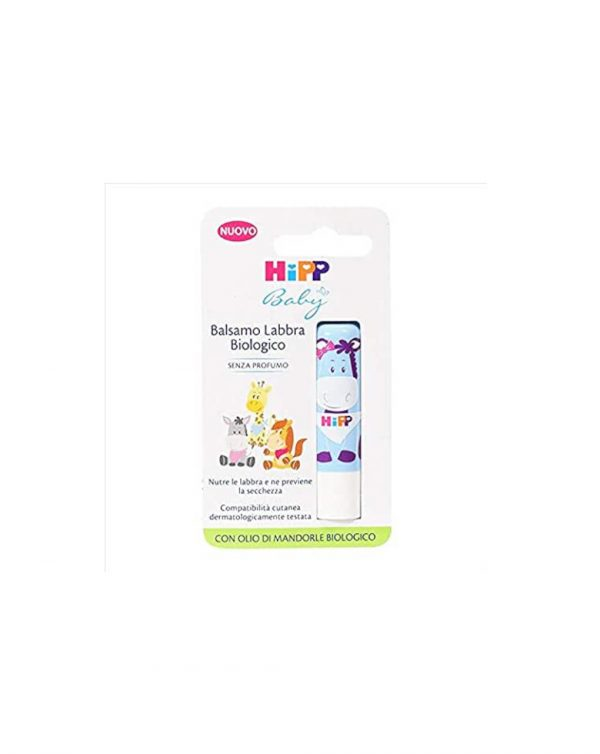 Balsamo labbra biologico 4,8gr - Hipp Baby