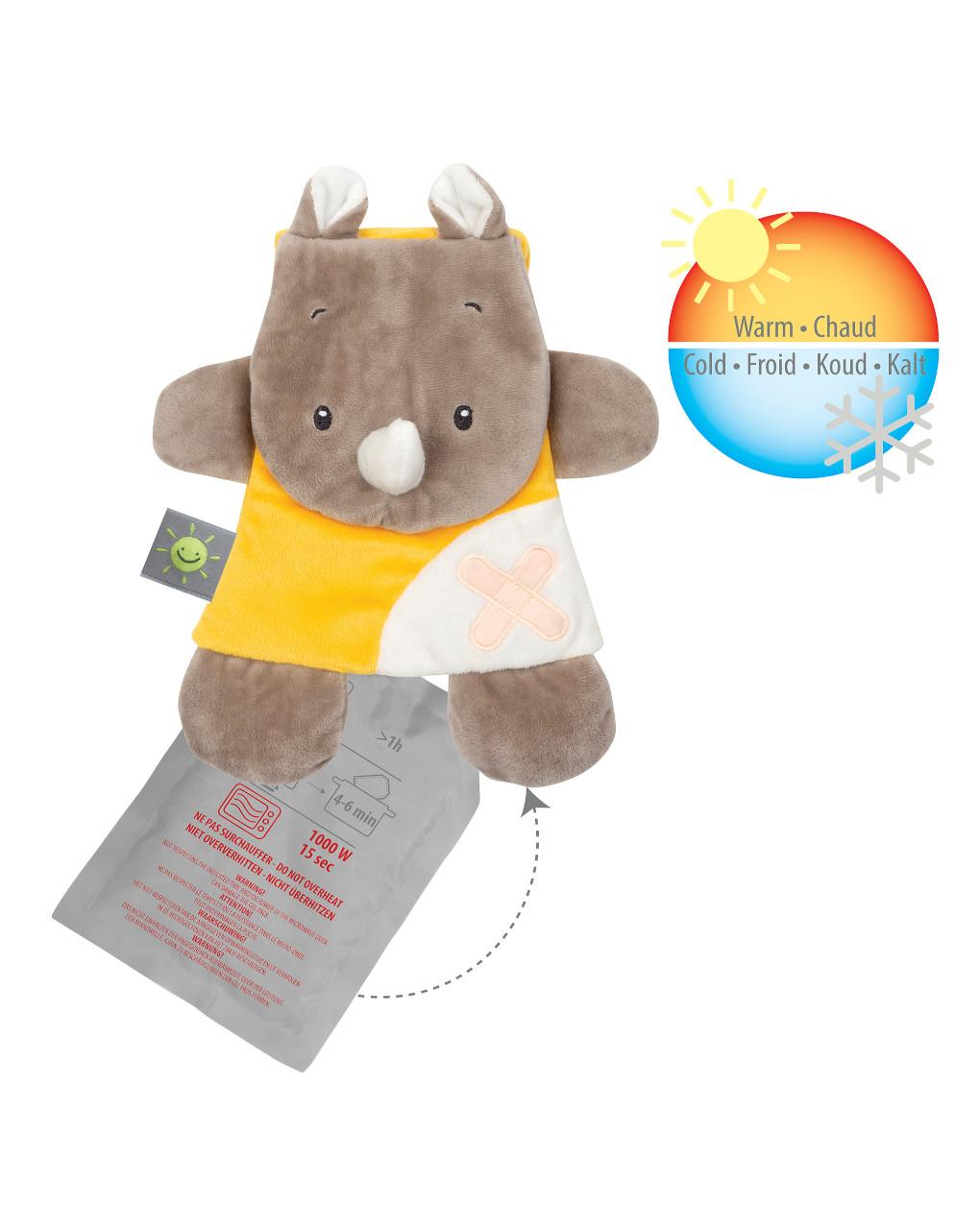 Nattou - doudou rino con gel pack - Nattou