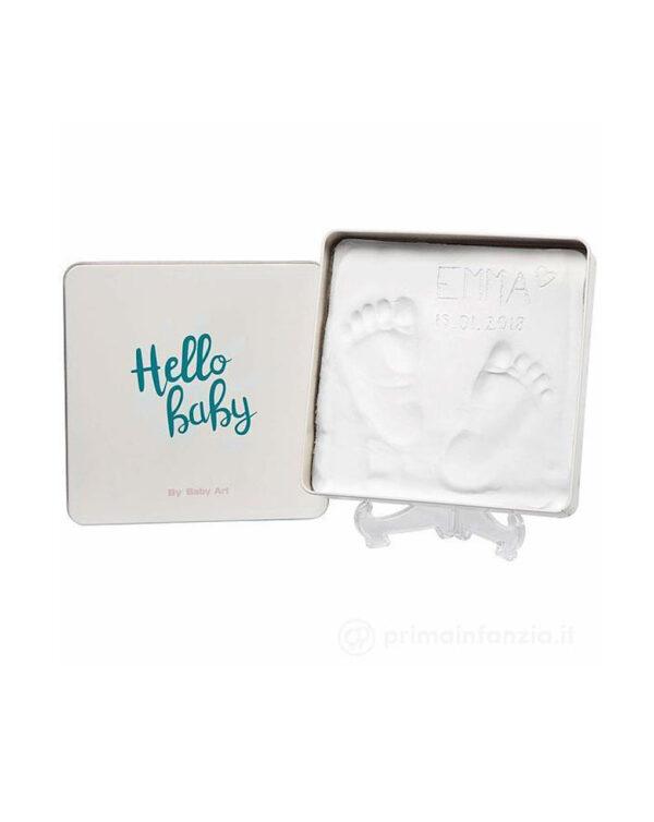 Kit impronta Magic Box quadrata - Baby Art