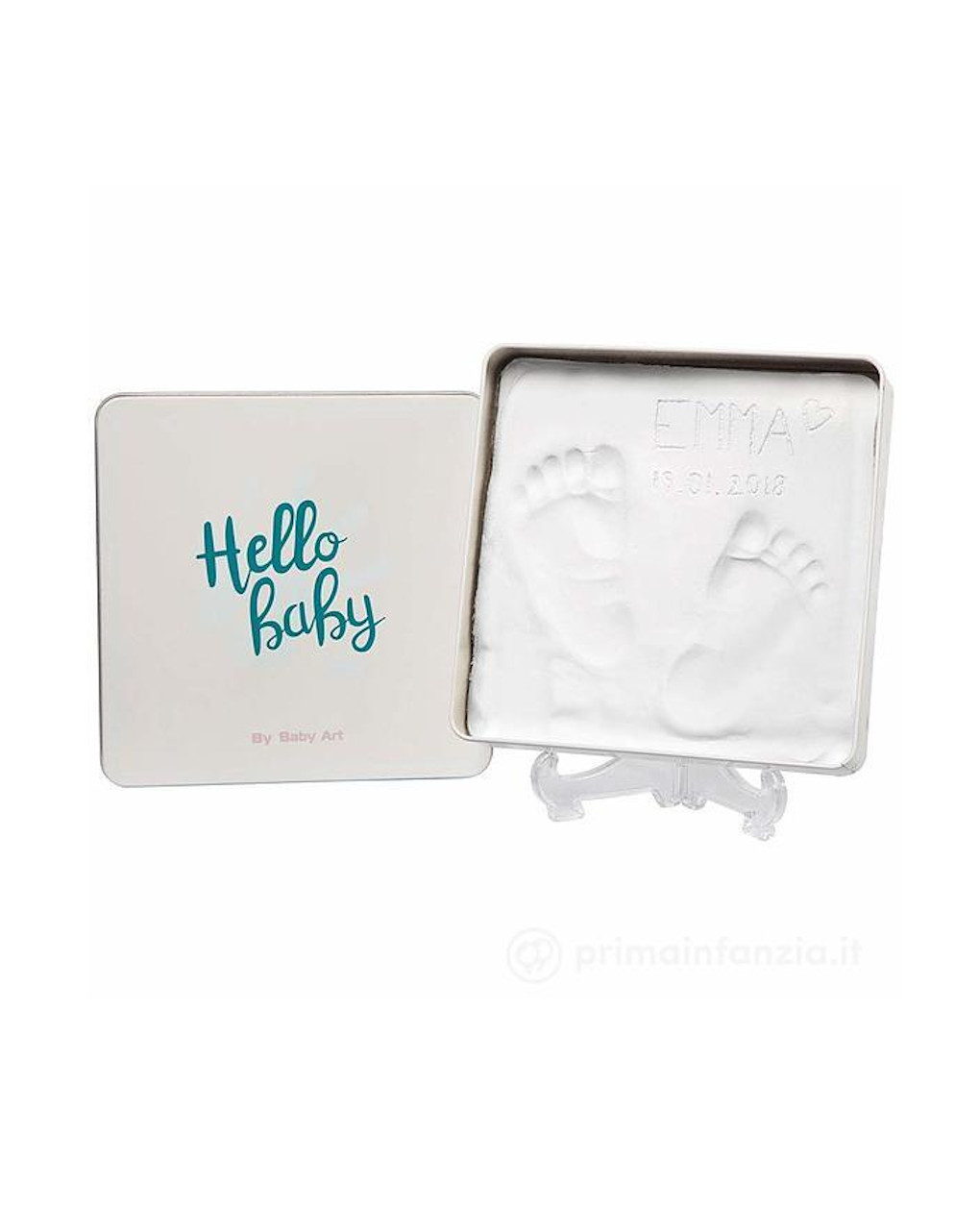 Kit impronta magic box quadrata - Baby Art