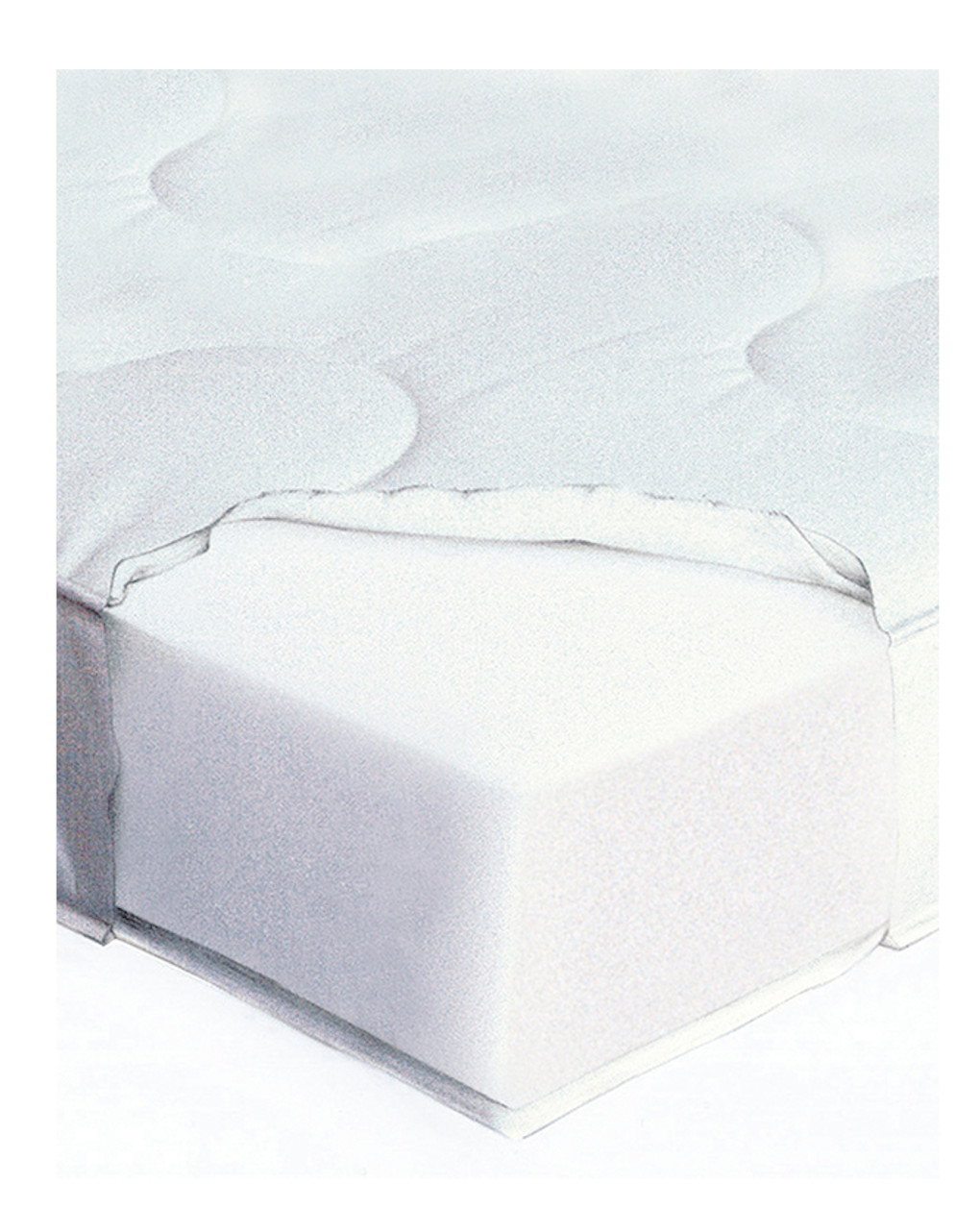 Materasso antiacaro giordani per lettino - Giordani