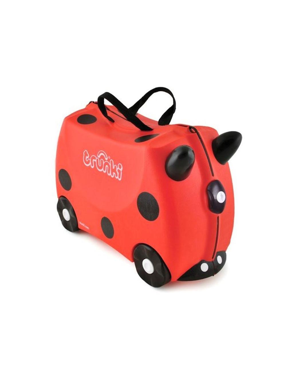 Trunki valigia cavalcabile coccinella - Trunki