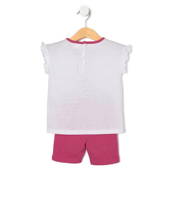 Set 2 pezzi T-shirt e calzoncini - Prénatal