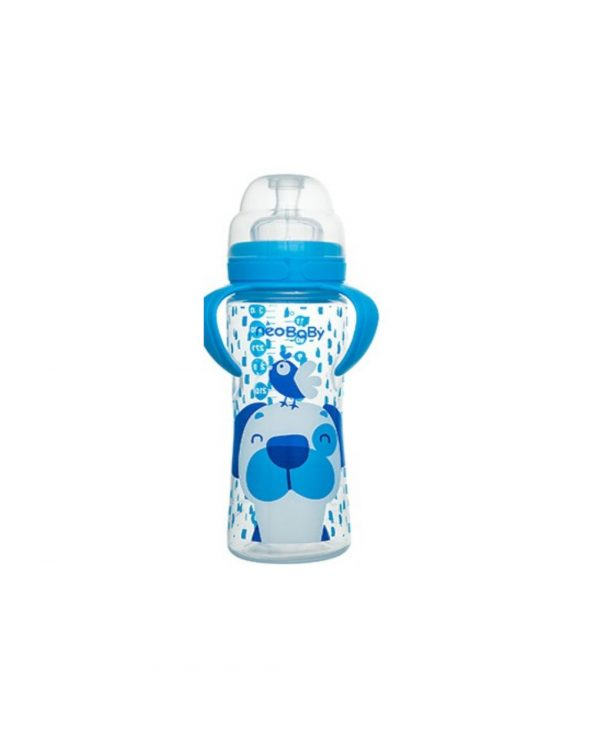 Biberon collo largo silicone 330 ml - Neo Baby