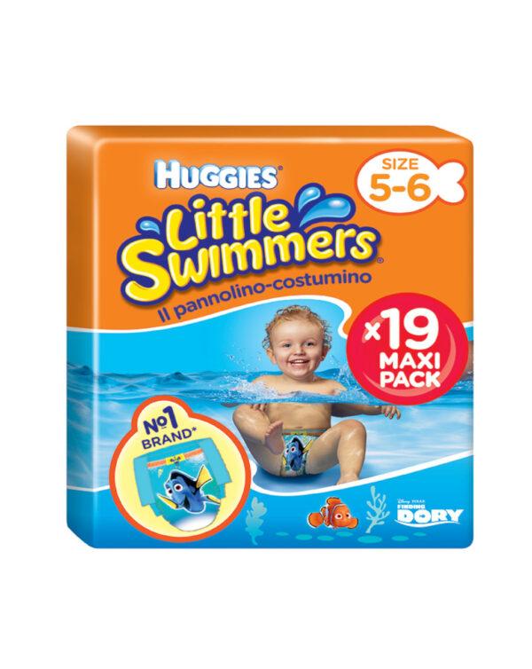 Huggies - Pannolino-costumino Little Swimmers tg. 5-6 (11 pz) - Huggies