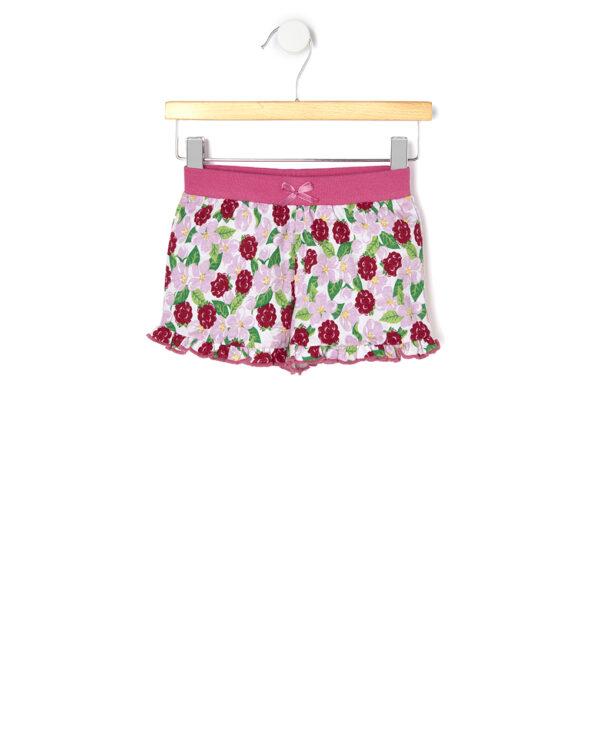 Pantaloncini basici in jersey con stampa allover - Prenatal 2