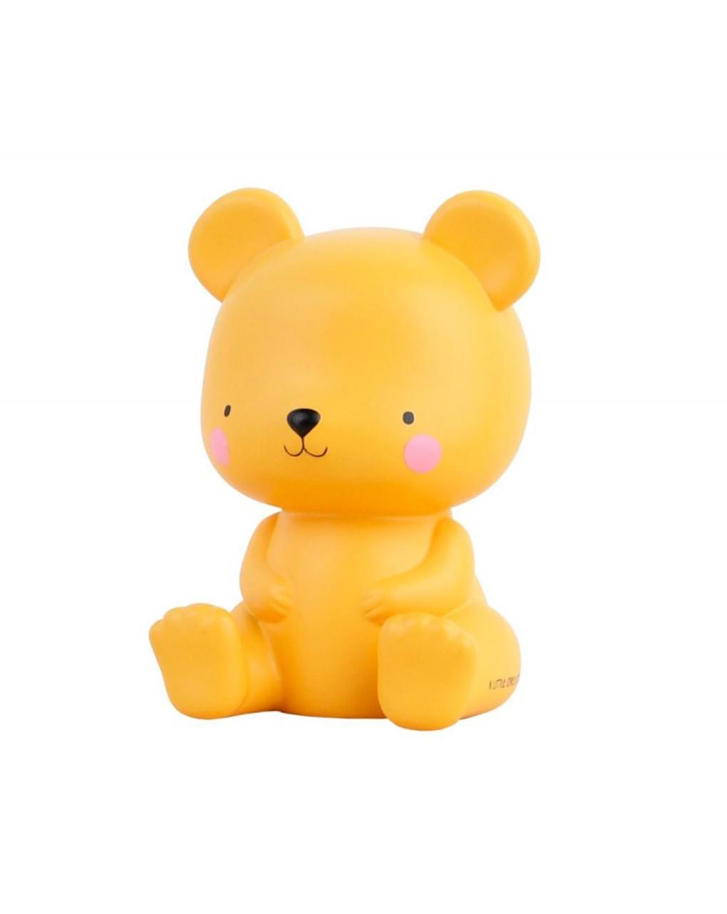 Luce piccola led orsetto caramello - Little Lovely Company