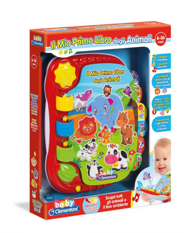 Baby Clementoni - Primo Libro Animali - Clementoni