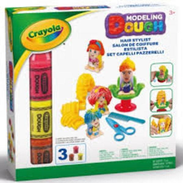 CRAYOLA - Pasta da modellare - Set Capelli Pazzerelli - Crayola