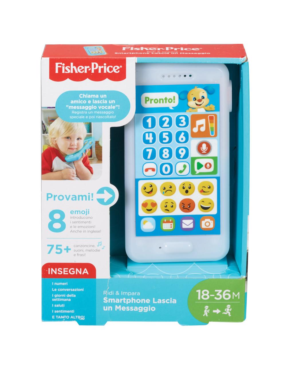 Fisher price - smartphone lascia un messaggio - Fisher-Price
