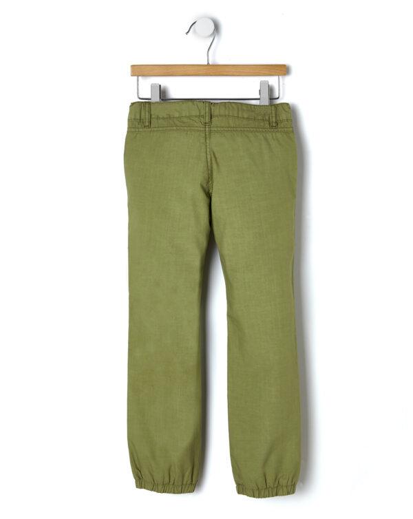Pantalone popeline con elastici alla caviglia - Prénatal