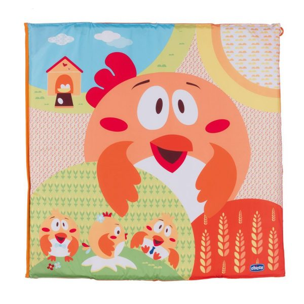 Box quadrato pieghevole open fancy chicken - Chicco