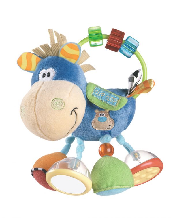 PLAYGRO - Toy Box Clip Clop Activity Rattle - Playgro