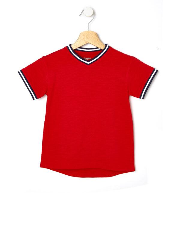 T-shirt con maniche corte e collo a V - Prénatal