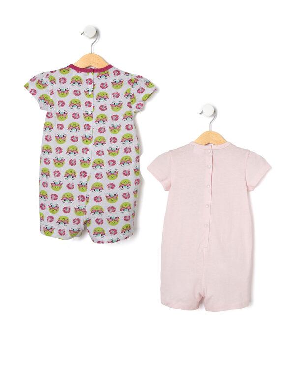 Pack 2 pigiamoni con stampa rane - Prenatal 2