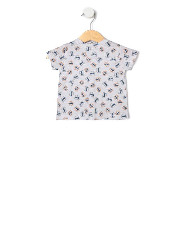 Completo 2 pezzi salopette e maglietta - Prénatal