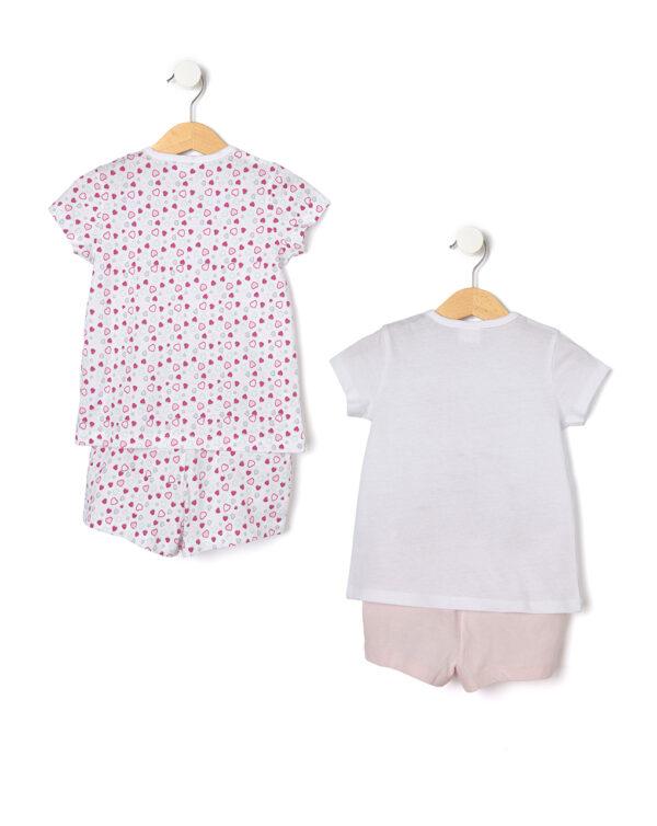 Pack 2 pezzi pigiami con maniche corte - Prénatal