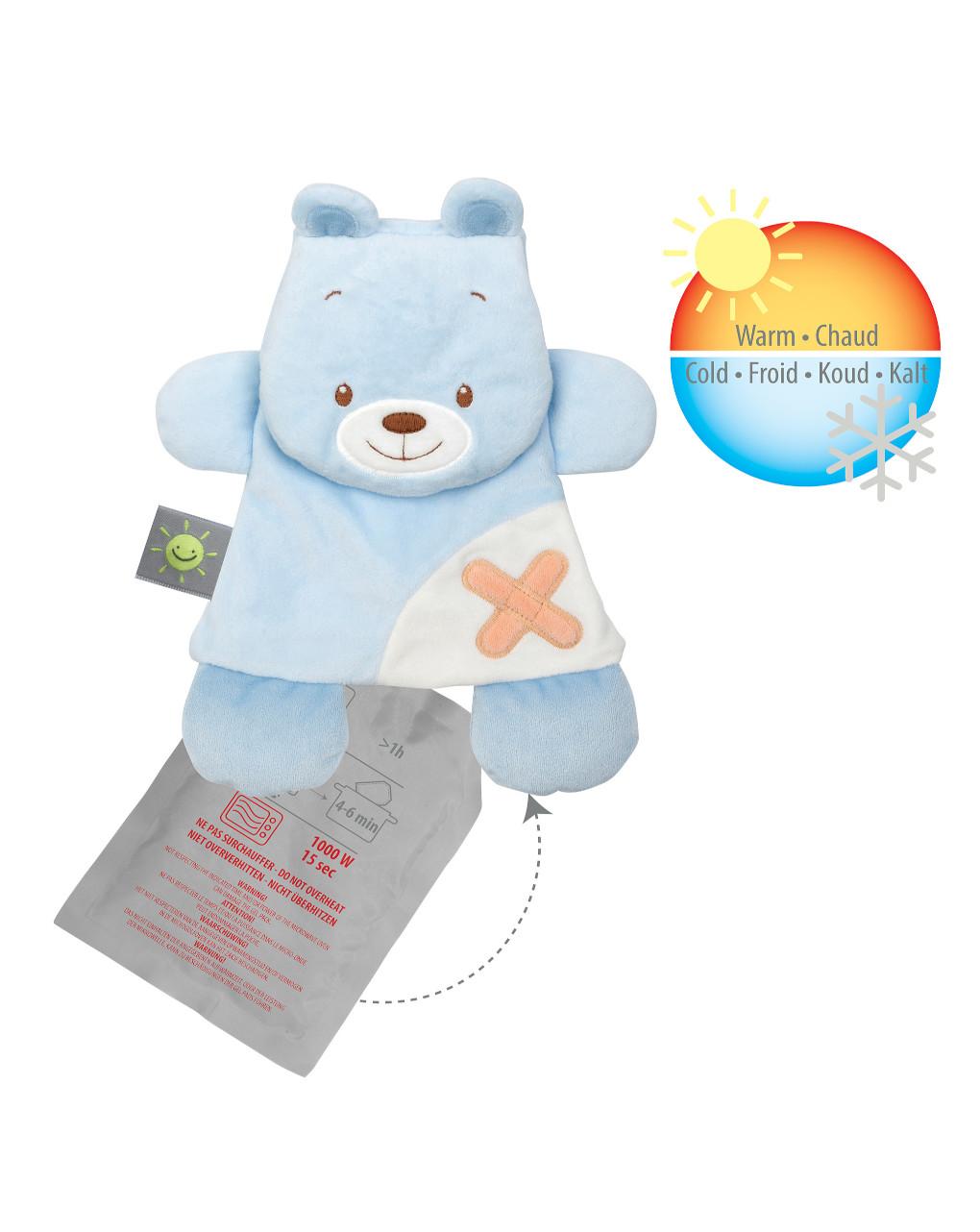 Nattou - doudou orso con gel pack - Nattou