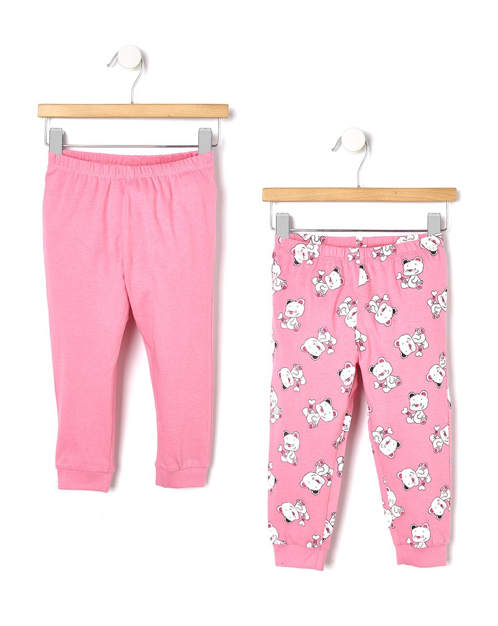 Pack 2 pigiami in cotone con stampa orso - Prénatal