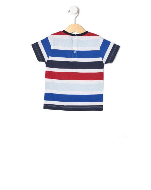 T-shirt basica a righe - Prenatal 2