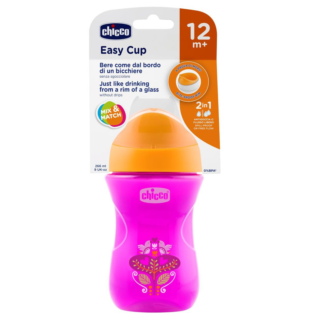 Tazza easy rosa 12m+ chicco - Chicco