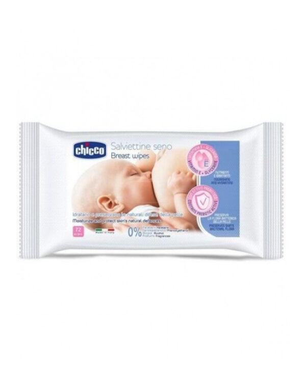 Salviettine detergenti seno72pz - Chicco