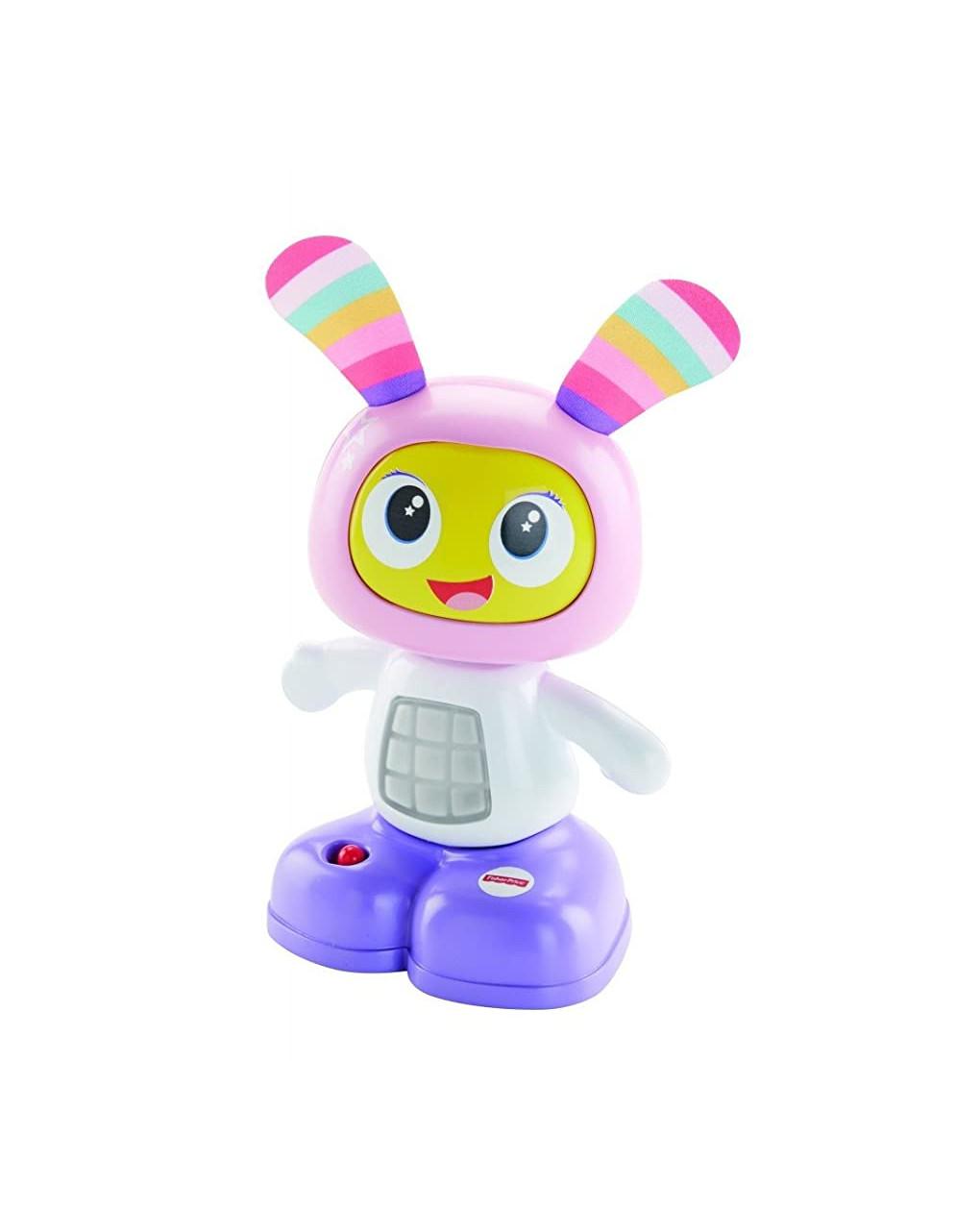 Fisher price - mini robottini ballerini, giocattolo per lo sviluppo dei bambini con canzoncine, fras - Fisher-Price