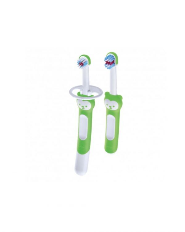 Set spazzolini Learn to Brush, neutro - Mam