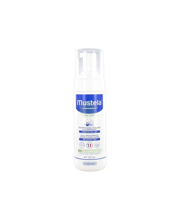 Shampoo mousse crosta lattea 150ml - Mustela